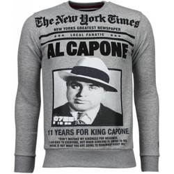 Textiel Heren Sweaters / Sweatshirts Local Fanatic Al Capone - Rhinestone Sweater 35