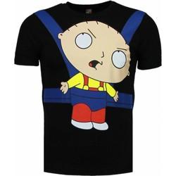 Textiel Heren T-shirts korte mouwen Mascherano Baby Stewie - T-shirt 38