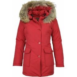Textiel Dames Parka jassen Beluomo Bontjassen - Dames Winterjas Wooly Lang - Bontkraag - Parka Stee 8