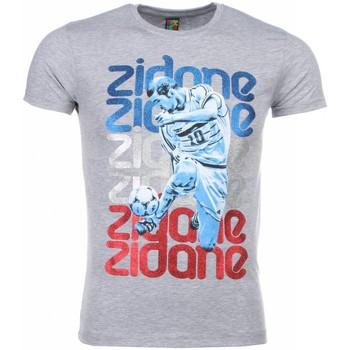 Textiel Heren T-shirts korte mouwen Mascherano T-shirt - Zidane Print 35
