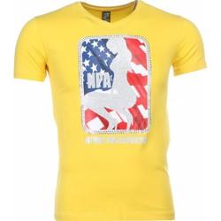 Textiel Heren T-shirts korte mouwen Mascherano T-shirt - NPA Print 4