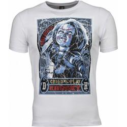 Textiel Heren T-shirts korte mouwen Mascherano T-shirt - Chucky Poster Print 1
