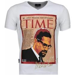 Textiel Heren T-shirts korte mouwen Local Fanatic Malcolm X - T-shirt 1