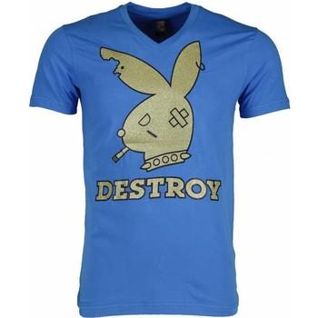 Textiel Heren T-shirts korte mouwen Mascherano T-shirt - Destroy 19