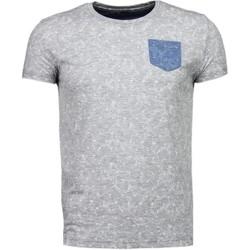 Textiel Heren T-shirts korte mouwen Black Number Blader Motief Summer - T-Shirt 35