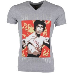 Textiel Heren T-shirts korte mouwen Mascherano T-shirt - Bruce Lee the Dragon 35