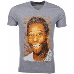 Textiel Heren T-shirts korte mouwen Mascherano T-shirt Pele 35