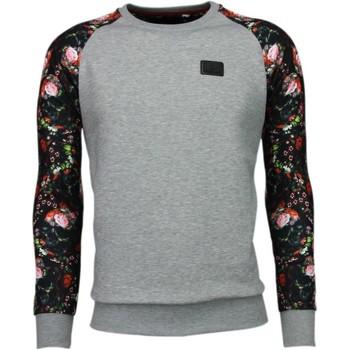 Textiel Heren Sweaters / Sweatshirts Local Fanatic Rozen Skull Arm Motief - Sweater 13