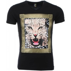 Textiel Heren T-shirts korte mouwen Mascherano T-shirt - Tijger Print 38