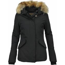 Textiel Dames Parka jassen Matogla Bontjassen - Dames Winterjas Wooly Kort - Grote Bontkraag 38
