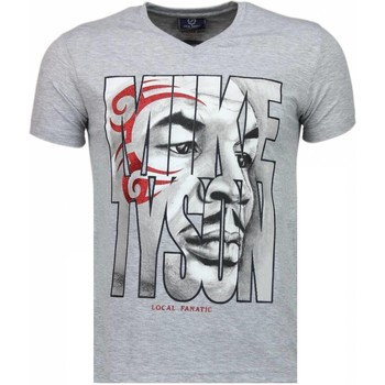 Textiel Heren T-shirts korte mouwen Local Fanatic Mike Tyson Tribal - T-shirt 35