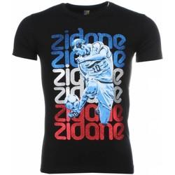 Textiel Heren T-shirts korte mouwen Mascherano T-shirt - Zidane Print 38