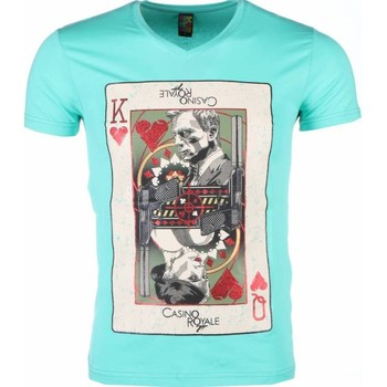 Textiel Heren T-shirts korte mouwen Mascherano T-shirt - James Bond Casino Royale Print 25