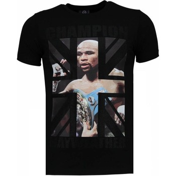 Textiel Heren T-shirts korte mouwen Local Fanatic Mayweather - Rhinestone T-shirt 38
