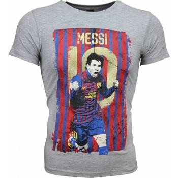 Textiel Heren T-shirts korte mouwen Mascherano T-shirt - Messi 10 Print 35