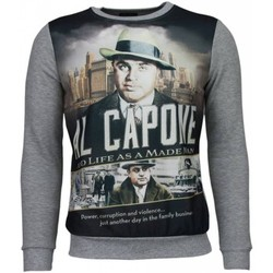 Textiel Heren Sweaters / Sweatshirts © Man The Only Capone - Sweater 35