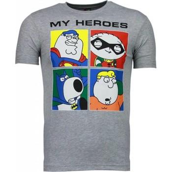 Textiel Heren T-shirts korte mouwen Mascherano Super Family - T-shirt 35