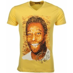 Textiel Heren T-shirts korte mouwen Mascherano T-shirt Pele 4