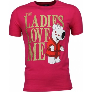 Textiel Heren T-shirts korte mouwen Local Fanatic T-shirt - The Ladies Love Me Print 13