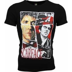 Textiel Heren T-shirts korte mouwen Mascherano T-shirt - Scarface Frame Print 38