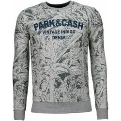 Textiel Heren Sweaters / Sweatshirts Black Number Park&Cash - Sweater 35