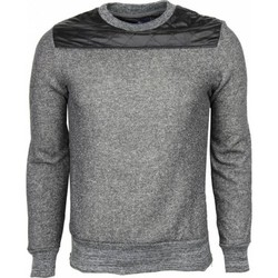 Textiel Heren Sweaters / Sweatshirts New-star Sweater - Kunstleer Schouder Blanco Heren 35