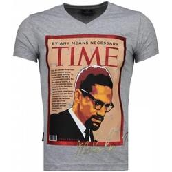 Textiel Heren T-shirts korte mouwen Local Fanatic Malcolm X - T-shirt 35