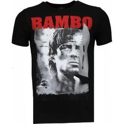 Textiel Heren T-shirts korte mouwen Local Fanatic Rambo - Rhinestone T-shirt 38