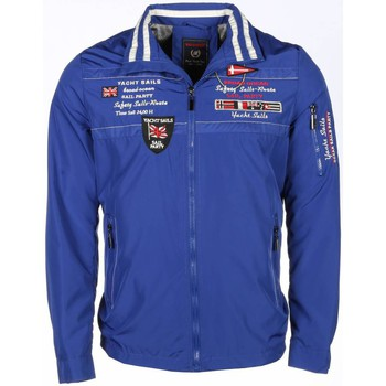 Textiel Heren Wind jackets Beluomo Casual Jack - Borduur Yachting Heren 19