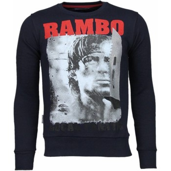 Textiel Heren Sweaters / Sweatshirts Local Fanatic Rambo - Rhinestone Sweater