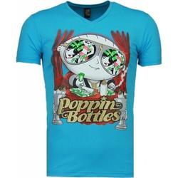 Textiel Heren T-shirts korte mouwen Mascherano Poppin Stewie - T-shirt 19