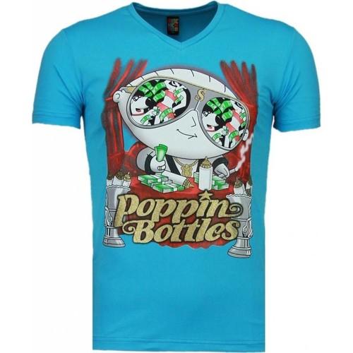 Textiel Heren T-shirts korte mouwen Local Fanatic Poppin Stewie Blauw