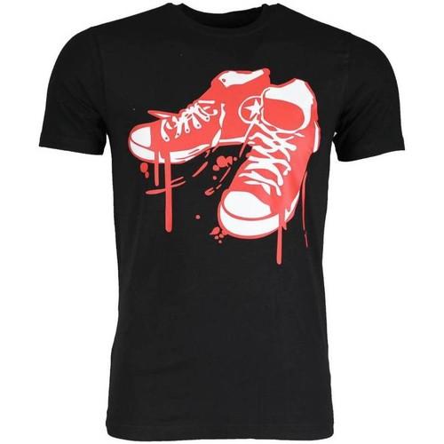 Textiel Heren T-shirts korte mouwen Local Fanatic  Zwart