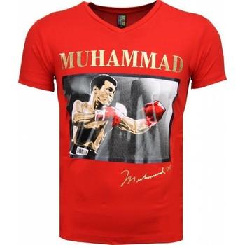 Textiel Heren T-shirts korte mouwen Mascherano T-shirt - Muhammad Ali Glossy Print 8