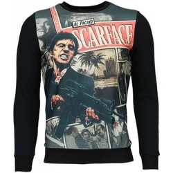 Textiel Heren Sweaters / Sweatshirts © Man Scarface Cartoon - Sweater 38