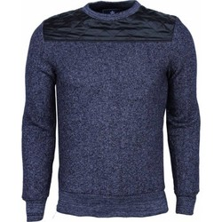 Textiel Heren Sweaters / Sweatshirts New-star Sweater - Kunstleer Schouder Blanco Heren 19