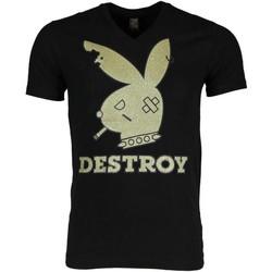 Textiel Heren T-shirts korte mouwen Mascherano T-shirt - Destroy 38