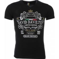 Textiel Heren T-shirts korte mouwen Mascherano T-shirt - Black Edition Print 38
