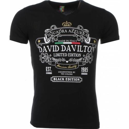 Textiel Heren T-shirts korte mouwen Local Fanatic Black Edition Print Zwart