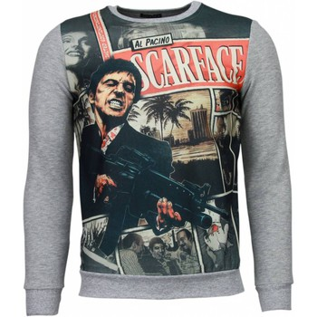 Textiel Heren Sweaters / Sweatshirts © Man Scarface Cartoon - Sweater 35