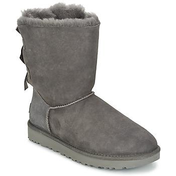 Schoenen Dames Laarzen UGG BAILEY BOW II Grijs