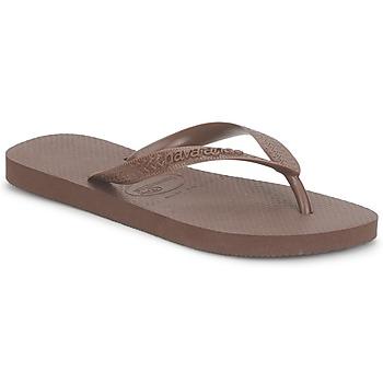 Schoenen Teenslippers Havaianas TOP Bruin