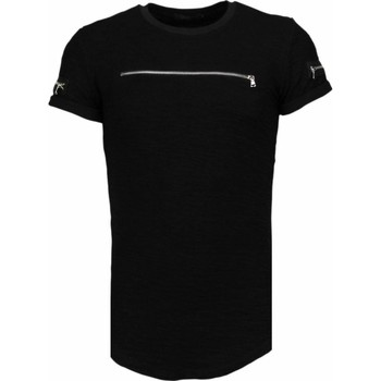 Textiel Heren T-shirts korte mouwen John H Exclusief Zipped Chest - T-Shirt 38