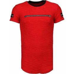 Textiel Heren T-shirts korte mouwen John H Exclusief Zipped Chest - T-Shirt 8