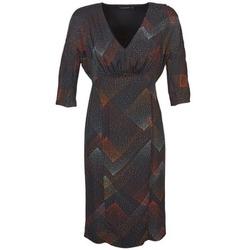 Textiel Dames Korte jurken Antik Batik ORION Zwart