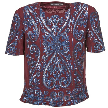 Textiel Dames Tops / Blousjes Antik Batik NIAOULI Bordeau
