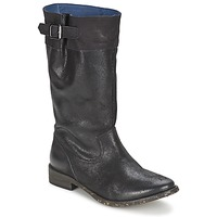Schoenen Dames Hoge laarzen Schmoove SANDINISTA BOOTS Zwart / Metaal