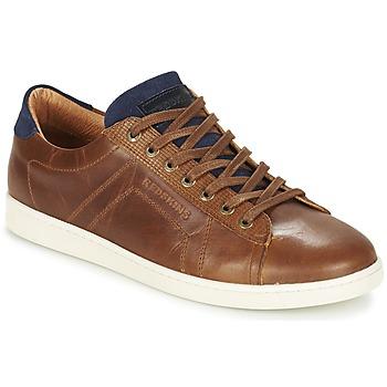 Schoenen Heren Lage sneakers Redskins ORMIL Cognac / Marine