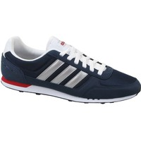 Schoenen Heren Lage sneakers adidas Originals Neo City Racer Marineblauw