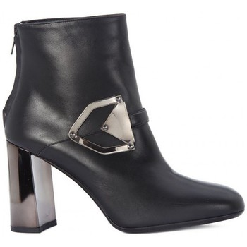 Schoenen Dames Low boots Albano TRONCHETTO VITELLO Nero